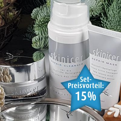 skinicer® Cleanser, Creme & Maske